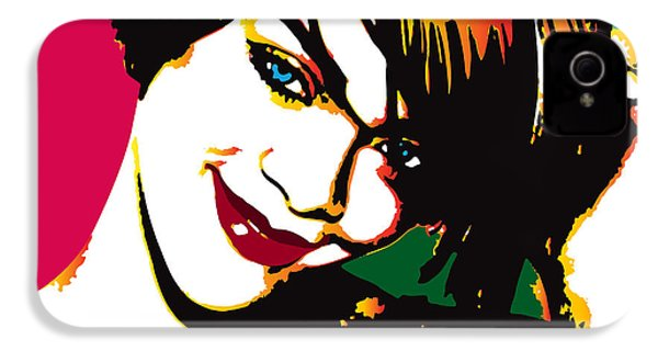 Rhiana  IPhone 4 / 4s Case by Irina Effa