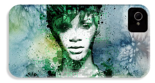 Rihanna 4 IPhone 4 / 4s Case by Bekim Art