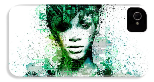 Rihanna 5 IPhone 4 / 4s Case by Bekim Art