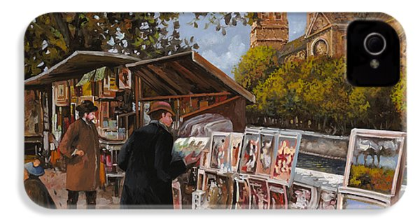 Rive Gouche IPhone 4 / 4s Case by Guido Borelli