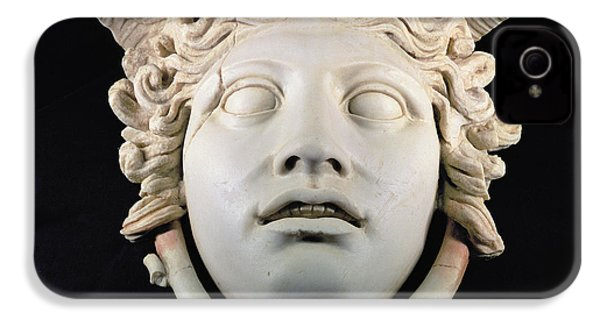 Rondanini Medusa, Copy Of A 5th Century Bc Greek Marble Original, Roman Plaster IPhone 4 / 4s Case by .