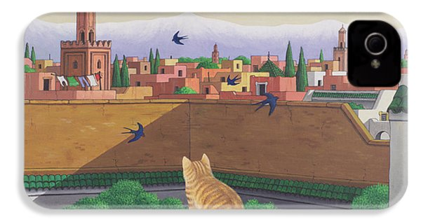 Rooftops In Marrakesh IPhone 4 / 4s Case by Larry Smart