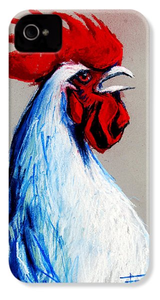 Rooster Head IPhone 4 / 4s Case by Mona Edulesco