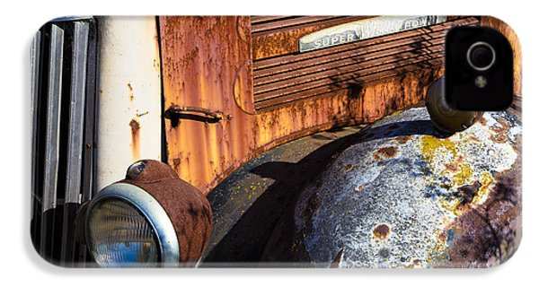 Rusty Truck Detail IPhone 4 / 4s Case by Garry Gay