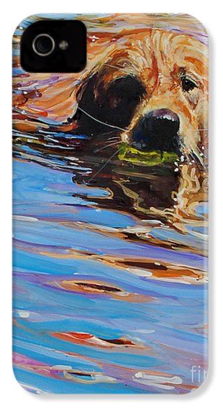Sadie Has A Ball IPhone 4 / 4s Case by Molly Poole