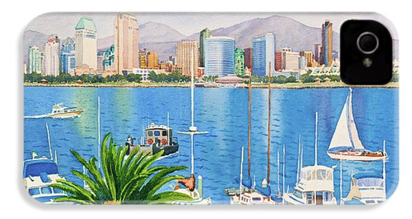 San Diego Fantasy IPhone 4 / 4s Case by Mary Helmreich