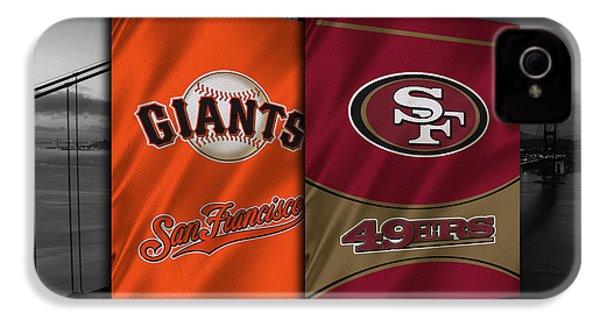 San Francisco Sports Teams IPhone 4 / 4s Case by Joe Hamilton