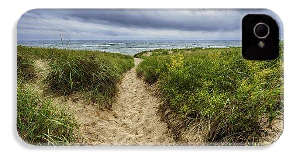 Sand Dunes Beach Path IPhone 4 / 4s Case by Sebastian Musial