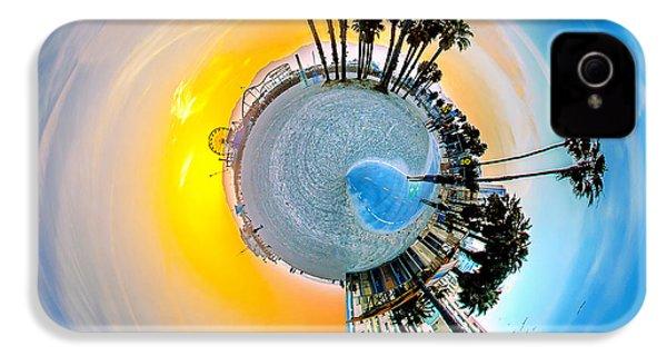 Santa Monica Pier Circagraph IPhone 4 / 4s Case by Az Jackson