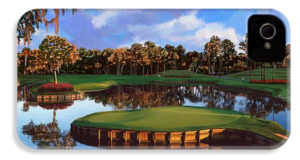 Sawgrass 17th Hole IPhone 4 / 4s Case by Tim Gilliland