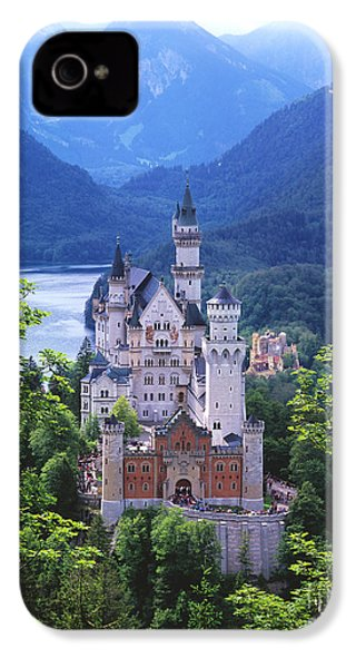 Schloss Neuschwanstein IPhone 4 / 4s Case by Timm Chapman