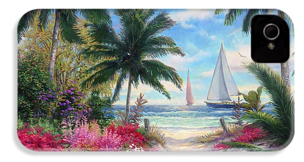 Sea Breeze Trail IPhone 4 / 4s Case by Chuck Pinson