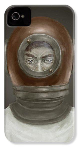 Self Portrait IPhone 4 / 4s Case by Balazs Solti