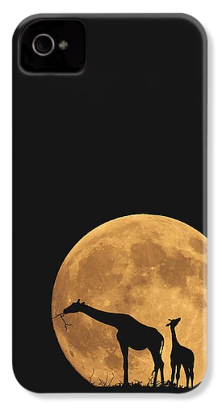 Serengeti Safari IPhone 4 / 4s Case by Carrie Ann Grippo-Pike