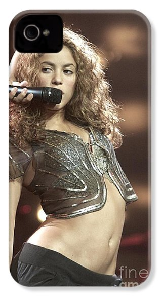 Shakira IPhone 4 / 4s Case by Concert Photos