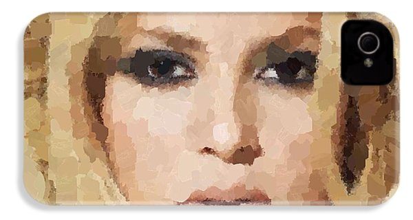 Shakira Portrait IPhone 4 / 4s Case by Samuel Majcen