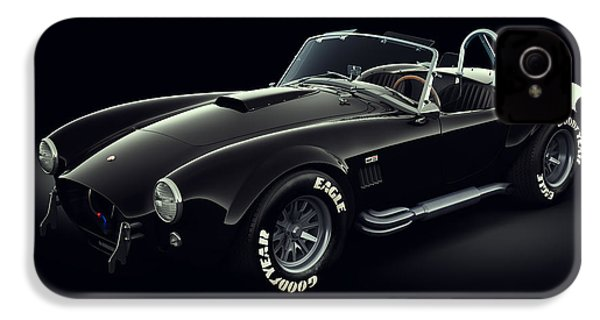 Shelby Cobra 427 - Ghost IPhone 4 / 4s Case by Marc Orphanos