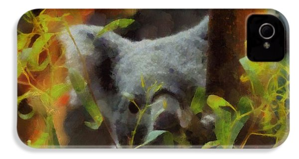 Shy Koala IPhone 4 / 4s Case by Dan Sproul