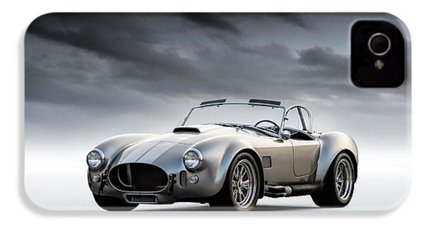 Silver Ac Cobra IPhone 4 / 4s Case by Douglas Pittman