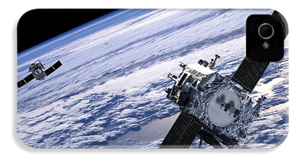 Solar Terrestrial Relations Observatory Satellites IPhone 4 / 4s Case by Anonymous