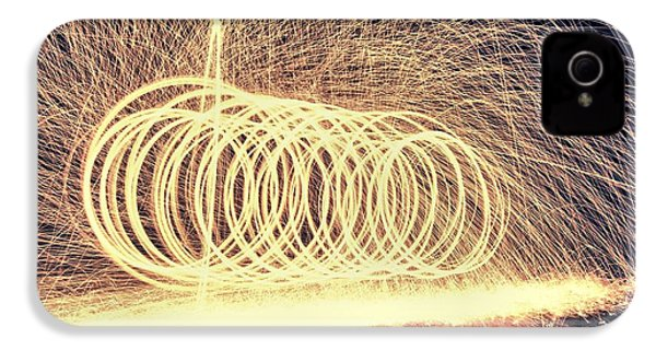 Sparks IPhone 4 / 4s Case by Dan Sproul