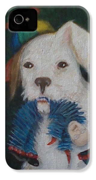 Sparky And Dick IPhone 4 / 4s Case by Georgia Griffin