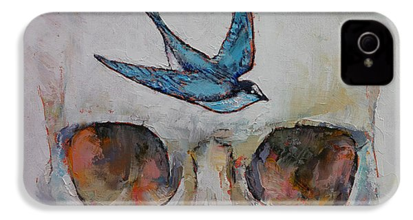 Sparrow IPhone 4 / 4s Case by Michael Creese