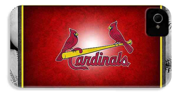 St Louis Cardinals IPhone 4 / 4s Case by Joe Hamilton