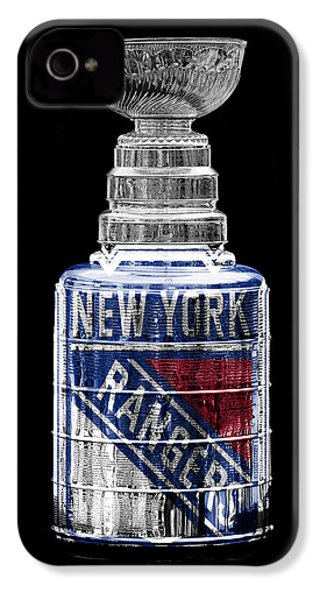 Stanley Cup 4 IPhone 4 / 4s Case by Andrew Fare
