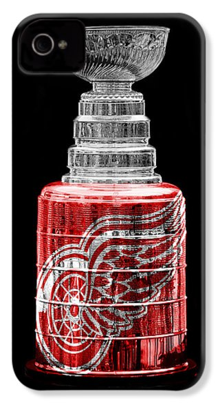 Stanley Cup 5 IPhone 4 / 4s Case by Andrew Fare