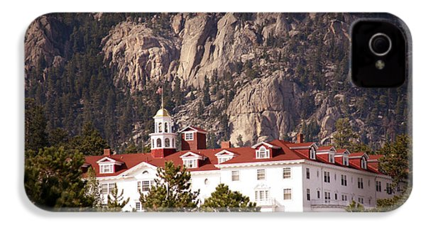 Stanley Hotel Estes Park IPhone 4 / 4s Case by Marilyn Hunt