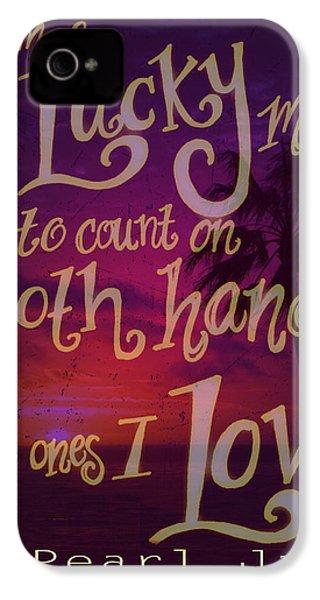 Stan's Beach 2 IPhone 4 / 4s Case by Liz Martinez
