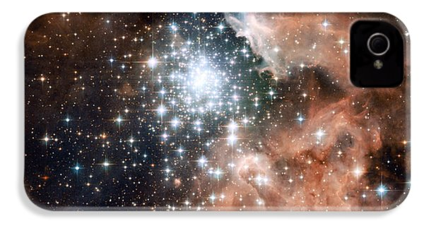Star Cluster And Nebula IPhone 4 / 4s Case by Sebastian Musial