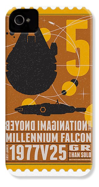 Starschips 05-poststamp -star Wars IPhone 4 / 4s Case by Chungkong Art