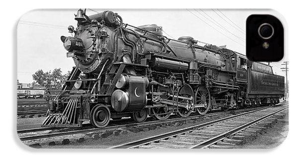 Steam Locomotive Crescent Limited C. 1927 IPhone 4 / 4s Case by Daniel Hagerman