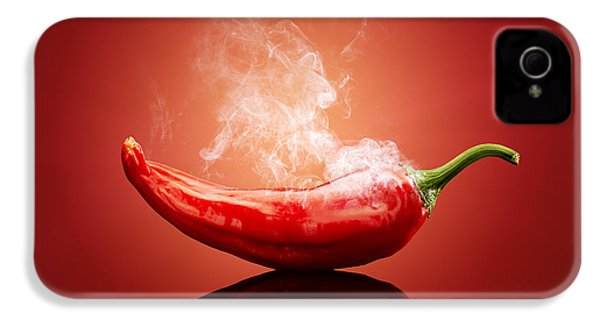 Steaming Hot Chilli IPhone 4 / 4s Case by Johan Swanepoel