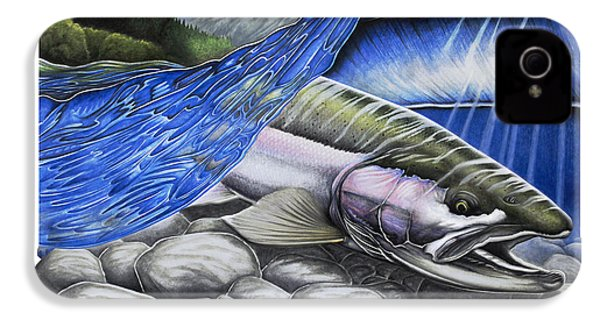Steelhead Dreams IPhone 4 / 4s Case by Nick Laferriere