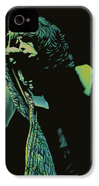 Steven Tyler 2 IPhone 4 / 4s Case by Paul Meijering