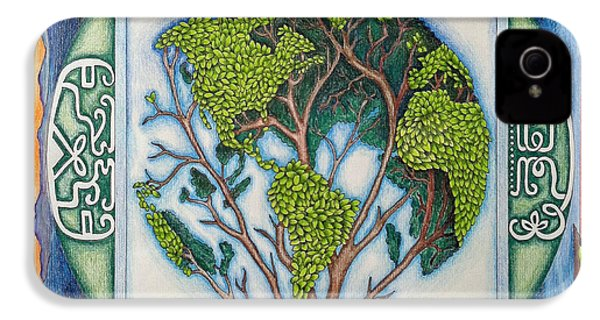 Stewardship Of The Earth IPhone 4 / 4s Case by Arla Patch