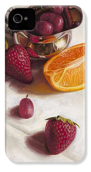 Still Life Reflections IPhone 4 / 4s Case by Ron Crabb
