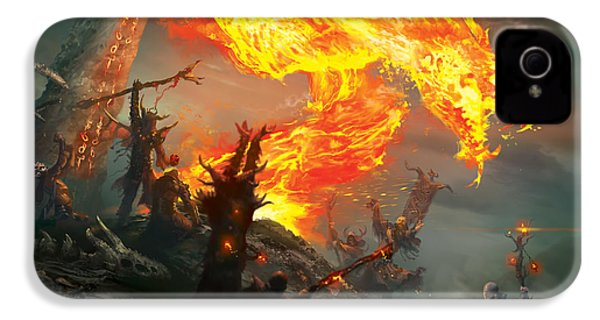 Stoke The Flames IPhone 4 / 4s Case by Ryan Barger