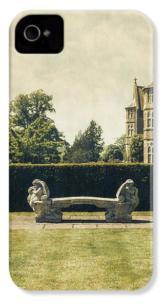 Stone Bench IPhone 4 / 4s Case by Joana Kruse
