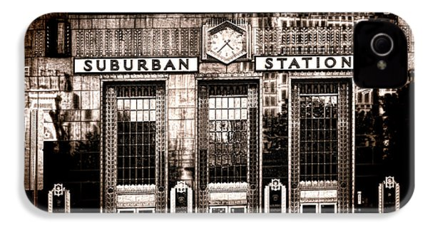 Suburban Station IPhone 4 / 4s Case by Olivier Le Queinec