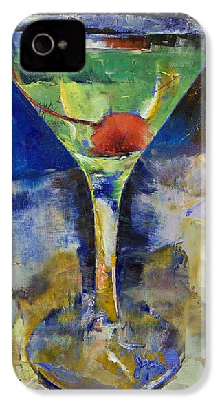 Summer Breeze Martini IPhone 4 / 4s Case by Michael Creese