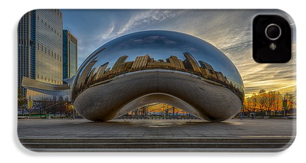 Sunrise Cloud Gate IPhone 4 / 4s Case by Sebastian Musial