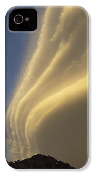 Sunset On Storm Clouds Near Mt Cook IPhone 4 / 4s Case by Ian Whitehouse