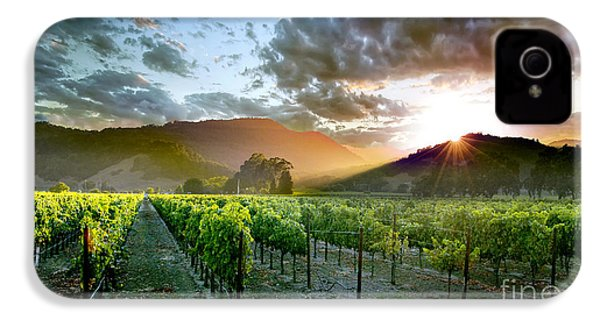 Wine Country IPhone 4 / 4s Case by Jon Neidert