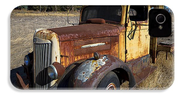 Super White Truck IPhone 4 / 4s Case by Garry Gay