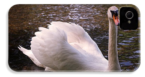 Swan Pose IPhone 4 / 4s Case by Rona Black