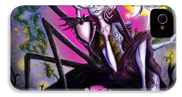 Sweet Loving Dreams In Halloween Night IPhone 4 / 4s Case by Alessandro Della Pietra
